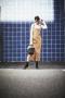 【VOL.2】サロペットスカートで大人コーデ